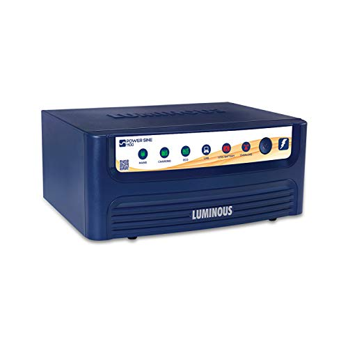 Luminous Power Sine 1100 Pure Sine Wave Inverter for Home, Office, and Shops (Blue)