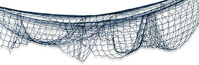 Beistle 50301-BK Decorative Fish Netting, 4 by 12-Feet