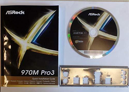 ASRock 970M Pro3 - Handbuch - Blende - Treiber CD