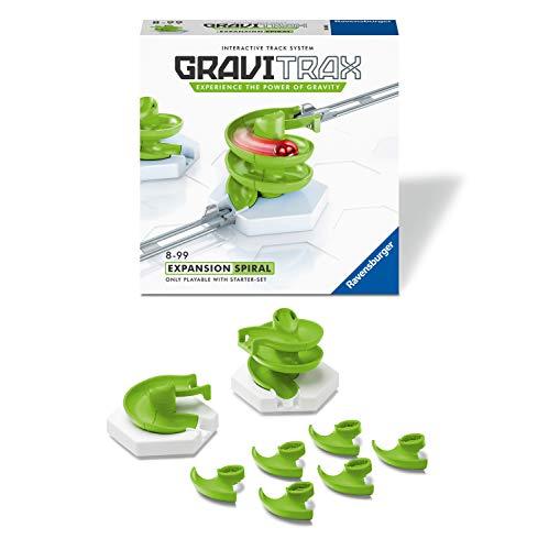 Ravensburger Gravitrax Espiral - Juegos de construcción para niños, Juego CTIM, 1+ Jugadores, Edad recomendada 8+ (26838)
