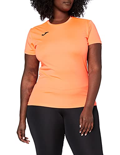 Joma Combi, Camiseta de manga corta Para Mujer, Rosa (Coral Fluor - 040), S