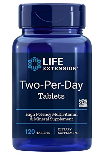 Life Extension, Two Per Day, 120 Tabletten