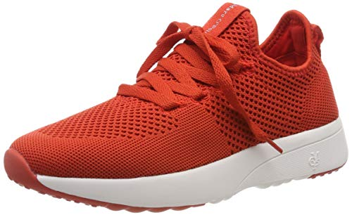 Marc O'Polo Damen Sneaker, Red 3600, 41 EU