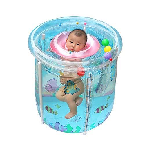 GG-Inflatable Pools Baby-Schwimmbad, aufblasbarer Familien-Planschbecken für Kinder und Erwachsene, Badetonne-70x80cm