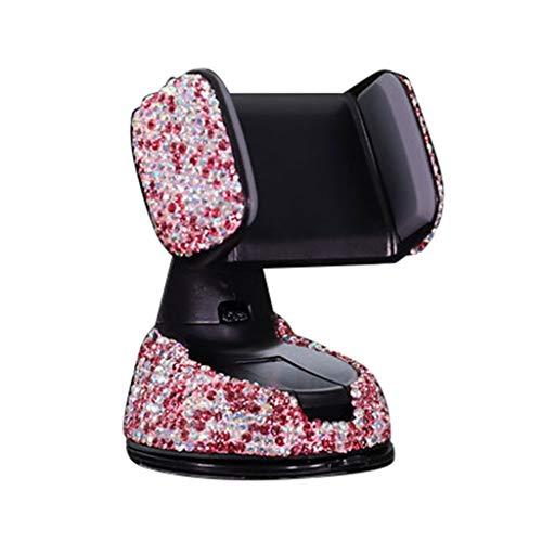 Gowersdee - Soporte Universal de plástico ABS para teléfono de Coche, Base de ventilación de Aire, Soporte de Cristal para salpicadero