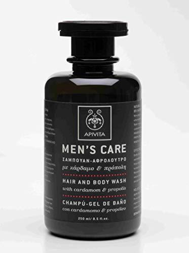 Apivita Shampoo & Badgel mit Cardomom & Propolil Men's Care