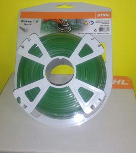 Stihl Filo decespugliatore 4 mm Quadrato 28 mt Verde