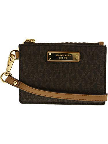 MICHAEL Michael Kors Mercer Small Coin Purse Brown One Size