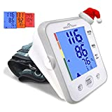 (Large Cuff) Easy@Home Digital Upper Arm Blood Pressure Monitor (BP Monitor) with 3-Color