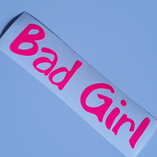 Bad Girl Neon pink Shocker hand Auto Aufkleber JDM Tuning Autoaufkleber OEM DUB Decal Stickerbomb Bombing fun Roller Scooter Motorrad