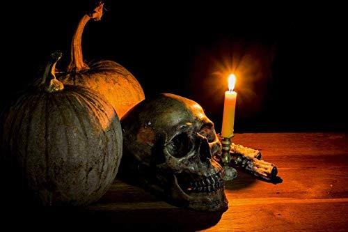 YYTTLL Puzzle 1000 Piezas Rama De Murciélago Linterna De Calabaza Navidad Y Halloween Decoración del Pasillo del Hogar para Familiares Y Amigos