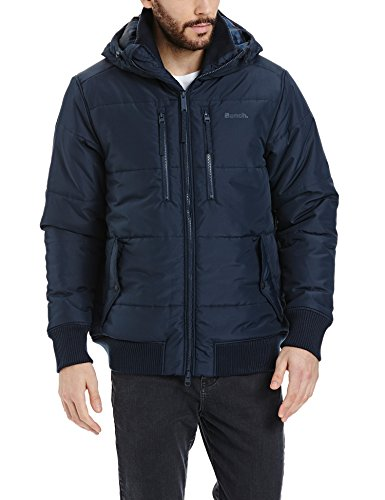 Bench Herren ARMATURE Jacke, Blau (Dark Navy Blue NY031), Small