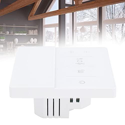 Termostatos inteligentes para wifi en el hogar, termostato wifi inteligente Pantallas LCD Temperatura interior Control de WiFi móvil Tecnología de control por microordenador para interiores