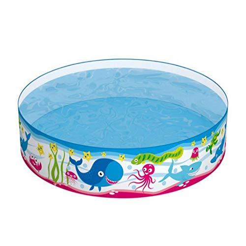 Ownlife Niños Familiar Piscina rápido fraguado Piscina for Niños Niñas Agua Diversión Ronda bañera bebé
