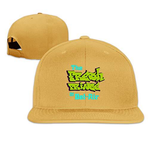 Adjustable Unisex Baseball Cap Fashion Style Hat Cotton Denim Cap The Fresh Prince of Bel-Air Baseball Cap Yellow