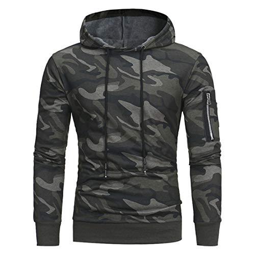 menhg mens pullover fleece sweatshirt