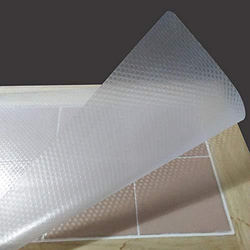 Aiyow Koelkastpads Multifunctionele koelkast Antislip antifouling Schimmel Vochtabsorberende pad Koelkastmatten.Wit doorschijnend zonder lijm