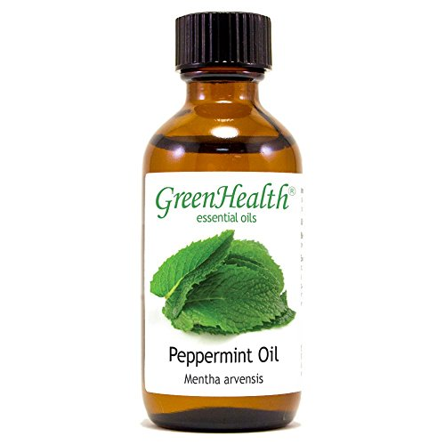 Peppermint Essential Oil 100% Pure, Uncut, 2 Oz