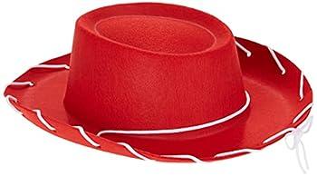 Century Novelty Children s Red Felt Cowboy Hat