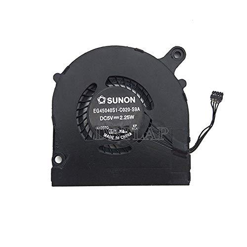 DBTLAP Ventilador para IBM Lenovo IdeaPad Yoga 2 Pro Ventilador AT0S9001SS0 SUNON EG45040S1-C020-S9A