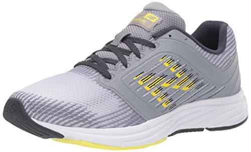 New Balance Women's 480 V6 Running Shoe, Steel/Thunder/Limeade, 5 W US
