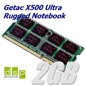 DSP Memory 2GB Speicher/RAM für Getac X500 Ultra Rugged Notebook