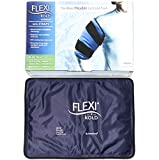 "FlexiKold Gel Ice Pack w/Straps (Standard Large: 10.5"" x 14.5"") - Reusable Cold Pack Compress (…"