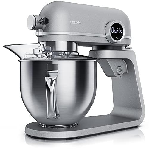 Arendo - Edelstahl Küchenmaschine 5...