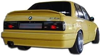 Extreme Dimensions Duraflex Replacement for 1988-1991 BMW 3 Series E30 2DR 4DR M-Tech Rear Bumper Cover - 1 Piece