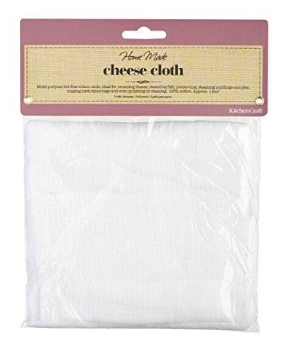 Kitchen Craft Tessuto per formaggio