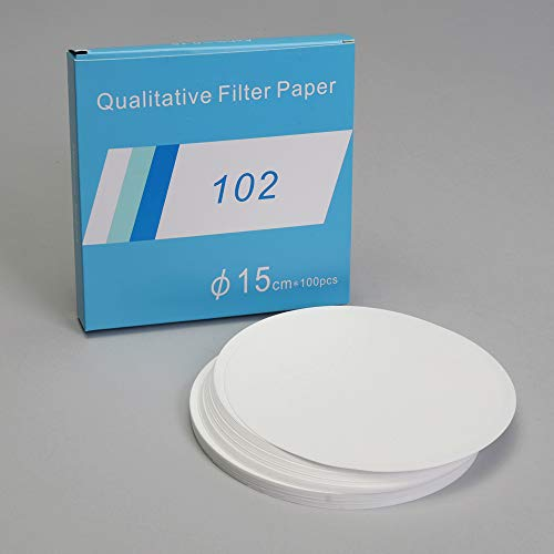 Filter Paper, Qualitative, 15 cm, Pack of 100