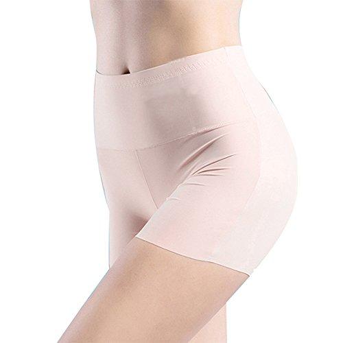 Auiyut Kurz Hose Damen Unterhosen Lange Frauen Panties hohe Taille Leggings Shapeshorts Nahtlose Miederhose Unter Rock Yoga Shorts Nahtlose Boyshort