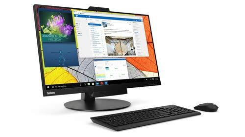 "Preisvergleich Produktbild Lenovo ThinkCentre Tiny-in-One 27 - LED-Monitor - 27"" (27 Zoll Display) - 2560 x 1440 - IPS - 350 cd / m2 - 1000:1-4 ms - HDMI,  DisplayPort - Lautsprecher - schwarz"