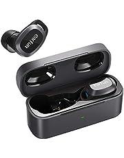 EarFun Free Pro Bluetooth 5.2 無線耳機 觸摸式 音量可調節 主動降噪 外部聲音模式 32小時播放 支持無線充電 4麥克風通話技術 IPX5防水 自動配對 【復合振動板/AAC適用/技術&PSE認證】 免提通話 語音輔助功能 (黑色)