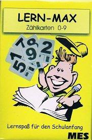Lern Max Zählkarten 0-9