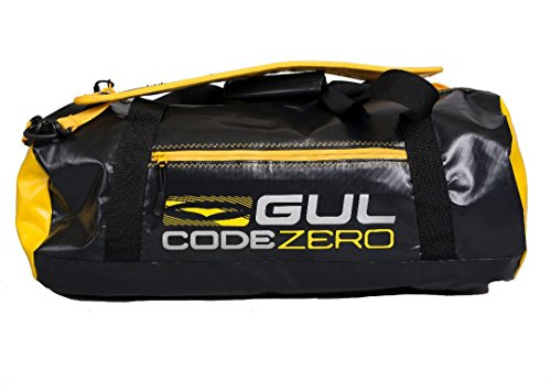 Gul Code Zero 28L Holdall Carry on Bag or Luggage BLACK YELLOW - 28L volume - Adjustable padded shoulder strap