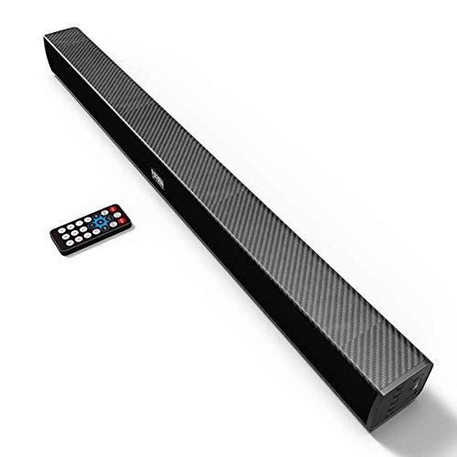 MIEMIE Multimedia Lautsprechersystem, Soundbars Für Fernseher Mit Integriertem Subwoofer Bluetooth 5.0-Subwoofer 360 ° Glasfaser-Audioeingang Heimkino