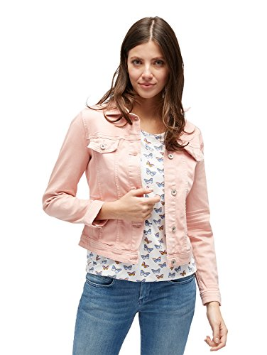 Tom Tailor Signature Color Denim Chaqueta Vaquera para Mujer