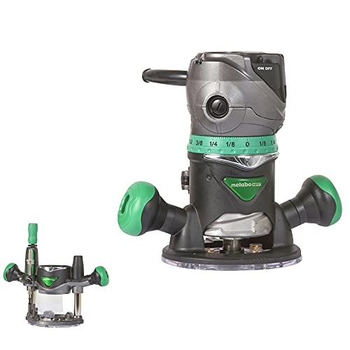 Metabo HPT Router Kit | Fixed/Plunge Base |...