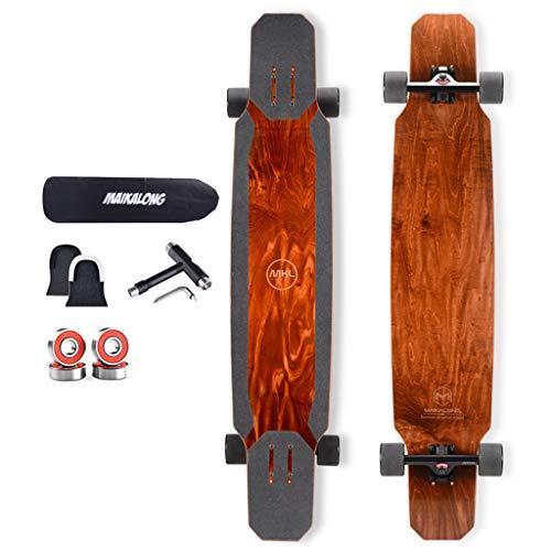 Tabla de Skate Freestyle Longboard Cubierta de bambú y Arce