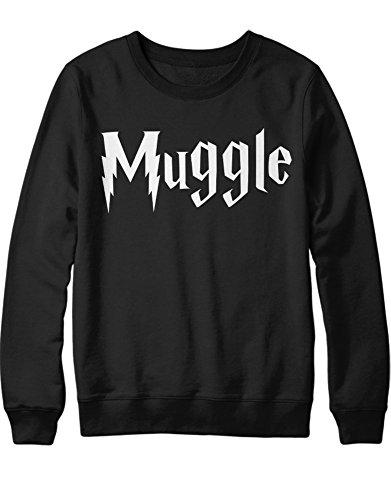 Sweatshirt Harry Fanartikel Muggle C999948 Schwarz M