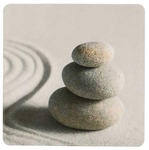 WENKO Duscheinlage Sand and Stone, Duschmatte, Badewanneneinlage, Anti Rutsch