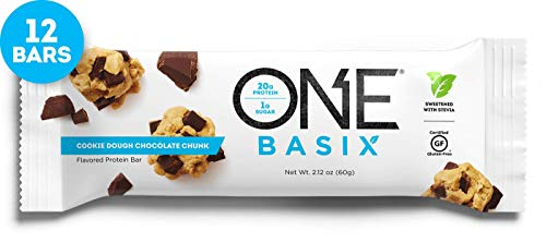 Iss Research Oh Yeah One Nutrition Bar, 12-Piece (Chocolate Chip Cookie Dough)