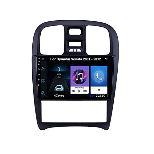 Autoradio Android Car Radio Stereo 9 Pulgadas Pantalla Táctil Para Hyundai Sonata 2001-2012 Para De Coche Conecta Y Reproduce Autoradio Mit Bluetooth Freisprecheinrichtung