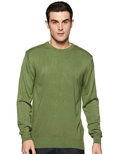 Amazon Brand – Arthur Harvey Men's Blouson Acrylic Sweater