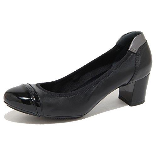 Hogan 8277N Ballerina Donna Nero Shoes Woman [36.5]