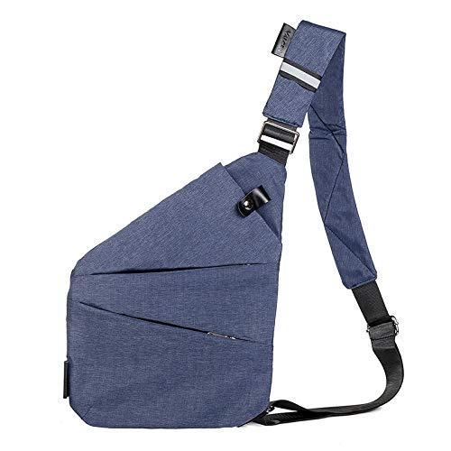 Laptoptasche Rucksack Brand Men Travel Business Bag Einbruchhemmende Umhängetasche Holster Diebstahlschutz Sicherheitsgurt Digitale Aufbewahrung Brusttaschen Blueright Kostenlose