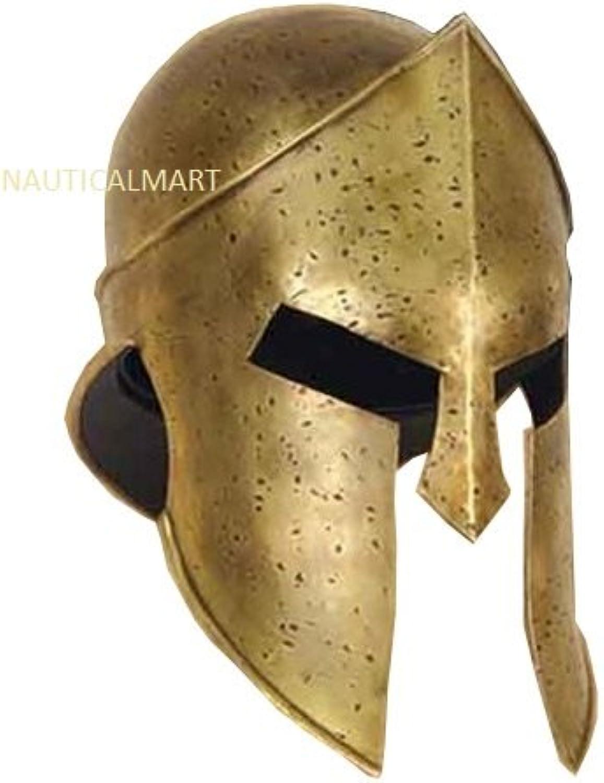 NAUTICALMART 300 King Spartan Helmet Roman Greek Helmet