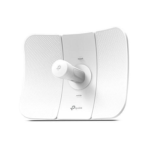 TP-Link CPE610 Outdoor Access Point Esterno Wi-Fi N300 Mbps, 5Ghz 23dBi, Passive Poe, Collegamenti Wi-Fi a lunga distanza, Funziona in coppia