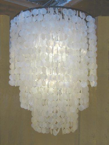 Muschellampe Muschelleuchte 100 cm hoch - 80 cm breit -